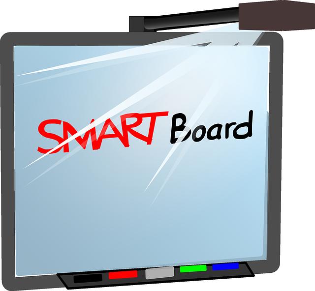 závěsný smart board