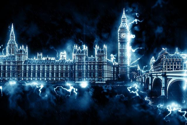 londýn mezi blesky