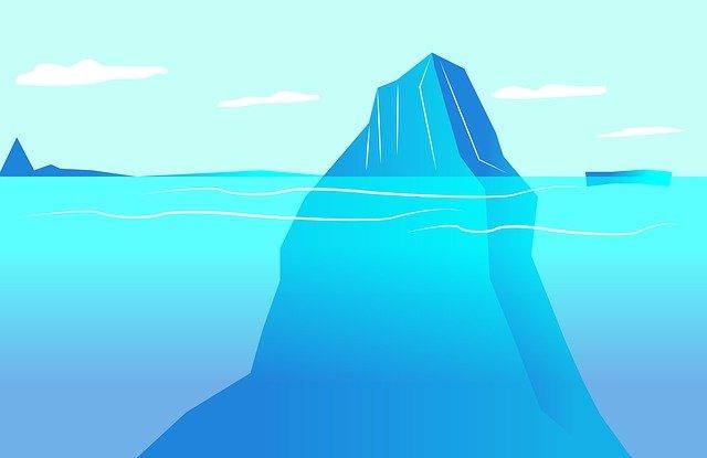 ledovec ilustrace