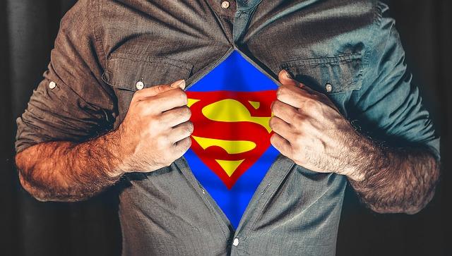 skrytý Superman