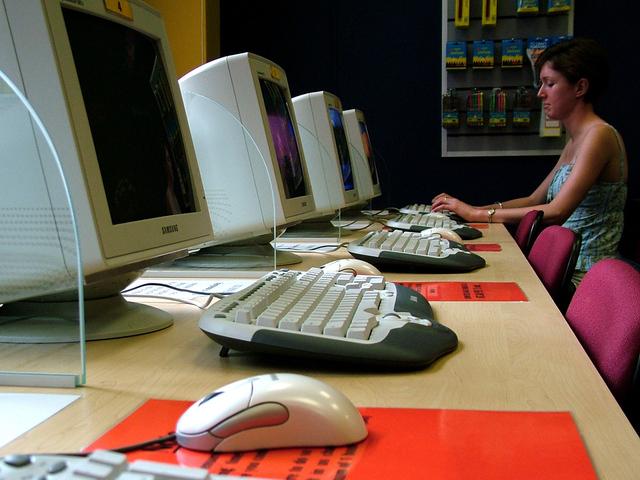 internetová kavárna