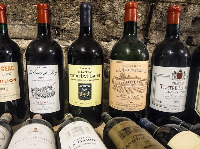 Lahve vín