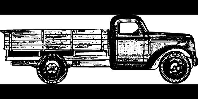 nákladní auto obrázek