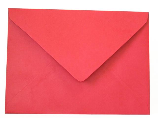 velká červená obálka
