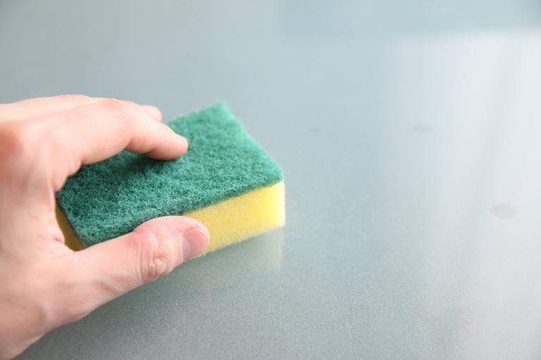 houbička na čištění