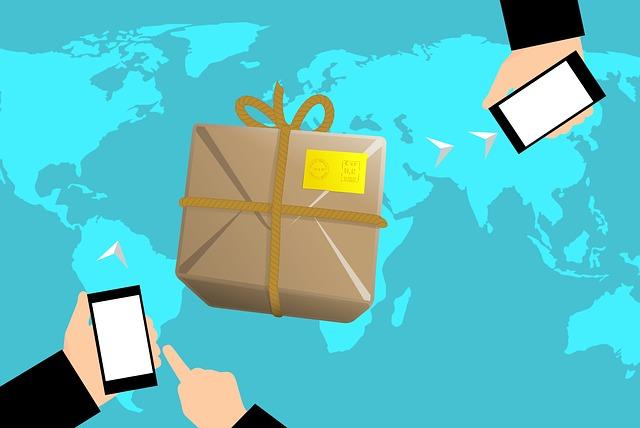 posílání balíčků