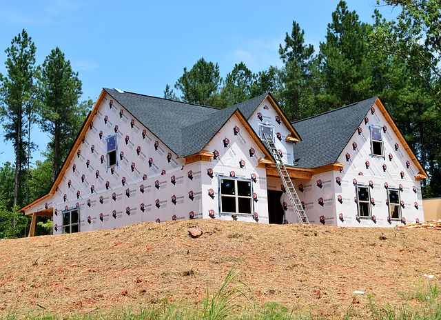 nově postavený dům