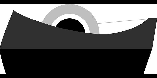 obyčejná lepicí páska
