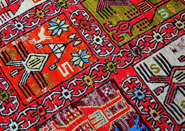 orientální koberec