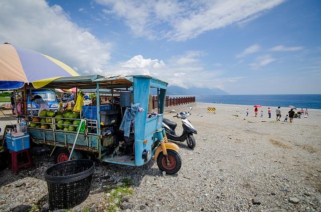 vozidlo v Asii